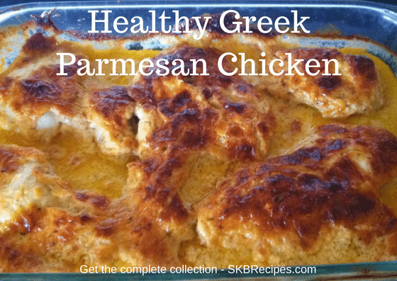 Healthy Greek Parmesan Chicken