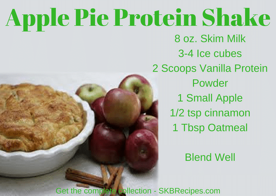 Apple Pie Protein Shake by SKB Recipes