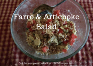 Farro and Artichoke Salad by SKBrecipes.com