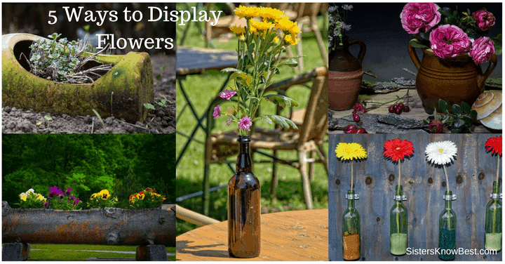 5 Ways to Display Flowers by Sisters Know Best