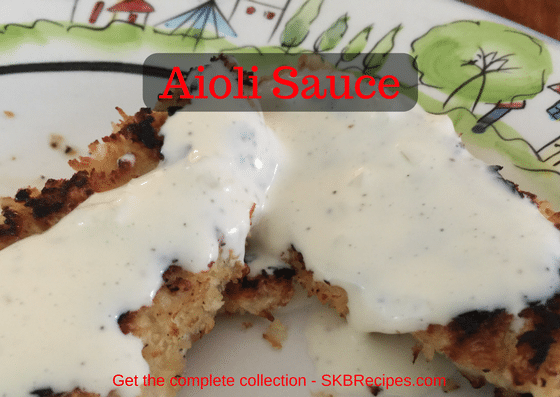 Aioli by SKBrecipes.com