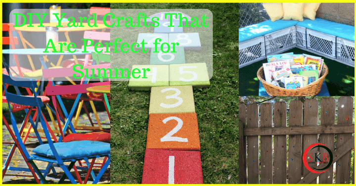 DIY Yard Crafts That Are Perfect for Summer by Sisters Know Best