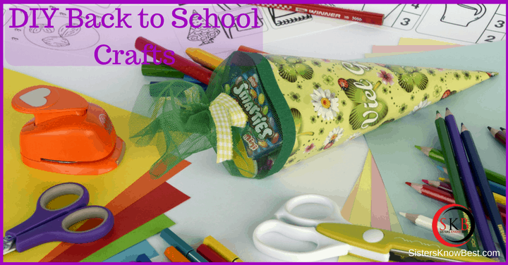 DIY Back to School Crafts - Sisters Know Best
