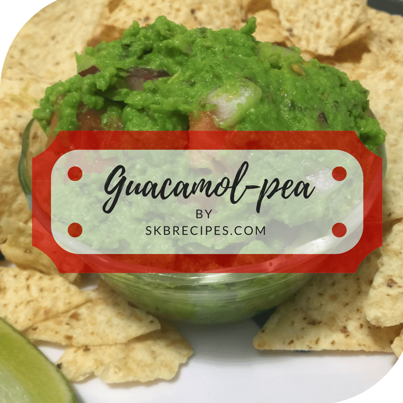 Guacamol-pea by SKBRECIPES.COM is part of the
