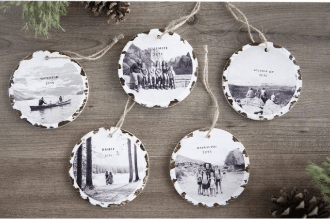 10 minute DIY Christmas ornament