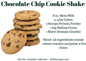 Chocolate Chip Cookie Shake by SKBrecipes.com