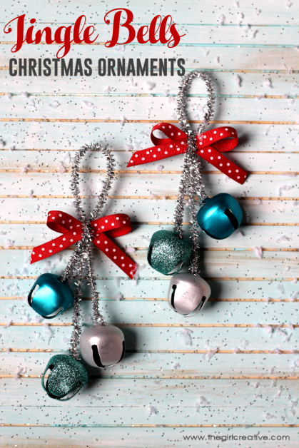 DIY Jingle Balls Christmas Ornaments
