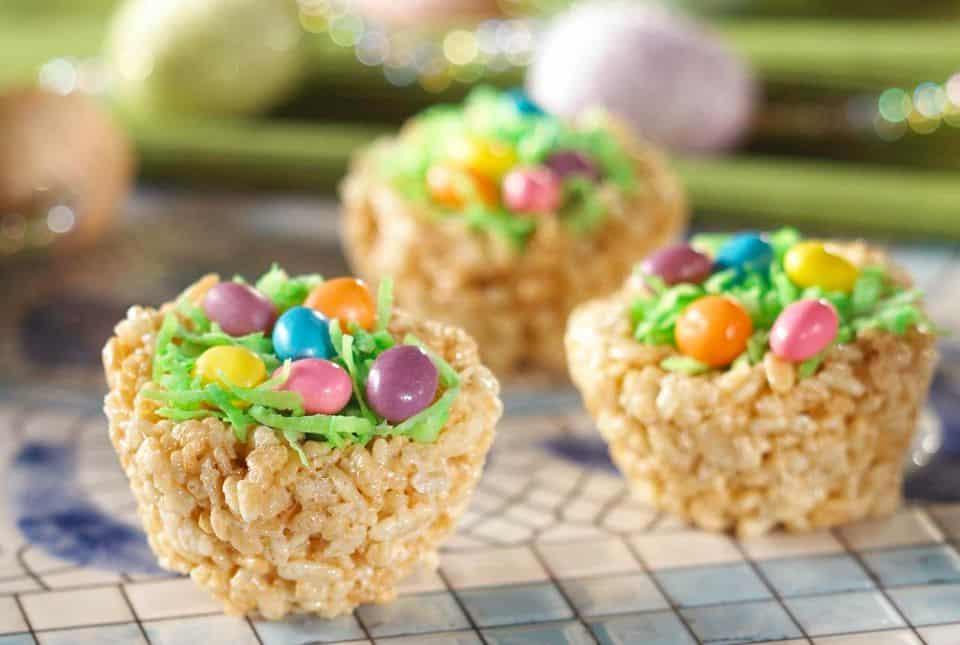 Rice Krispies Nest