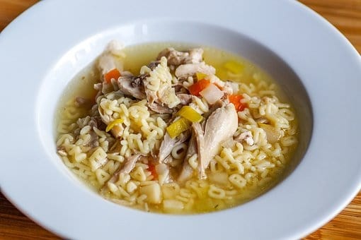 Mother's Day Menu Soup