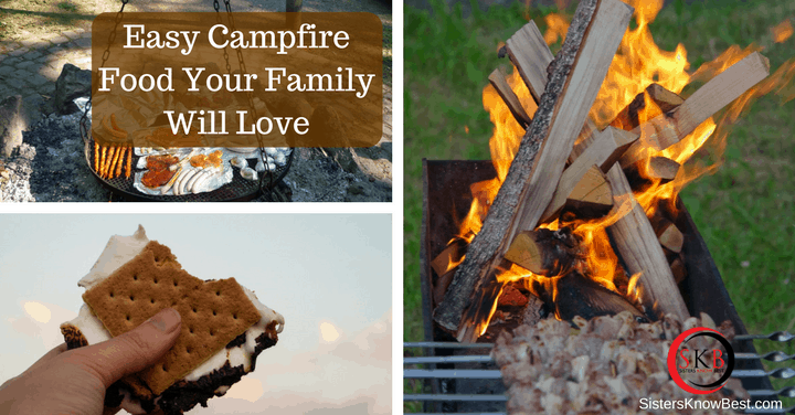 Campfire food that's fun and healthy!