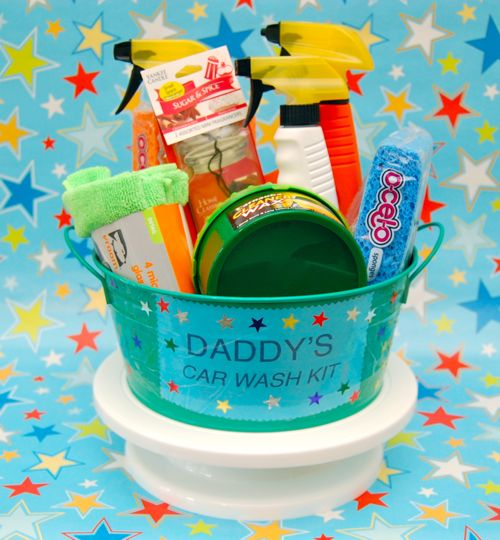 Create a Father's Day Car Wash Kit!