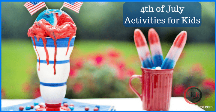 Easy 4th of July activities for children and adults