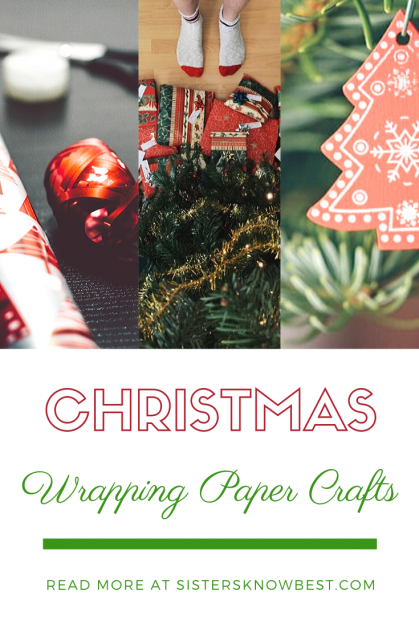 diy recycled wrapping paper crafts