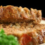beef meatloaf recipe slices