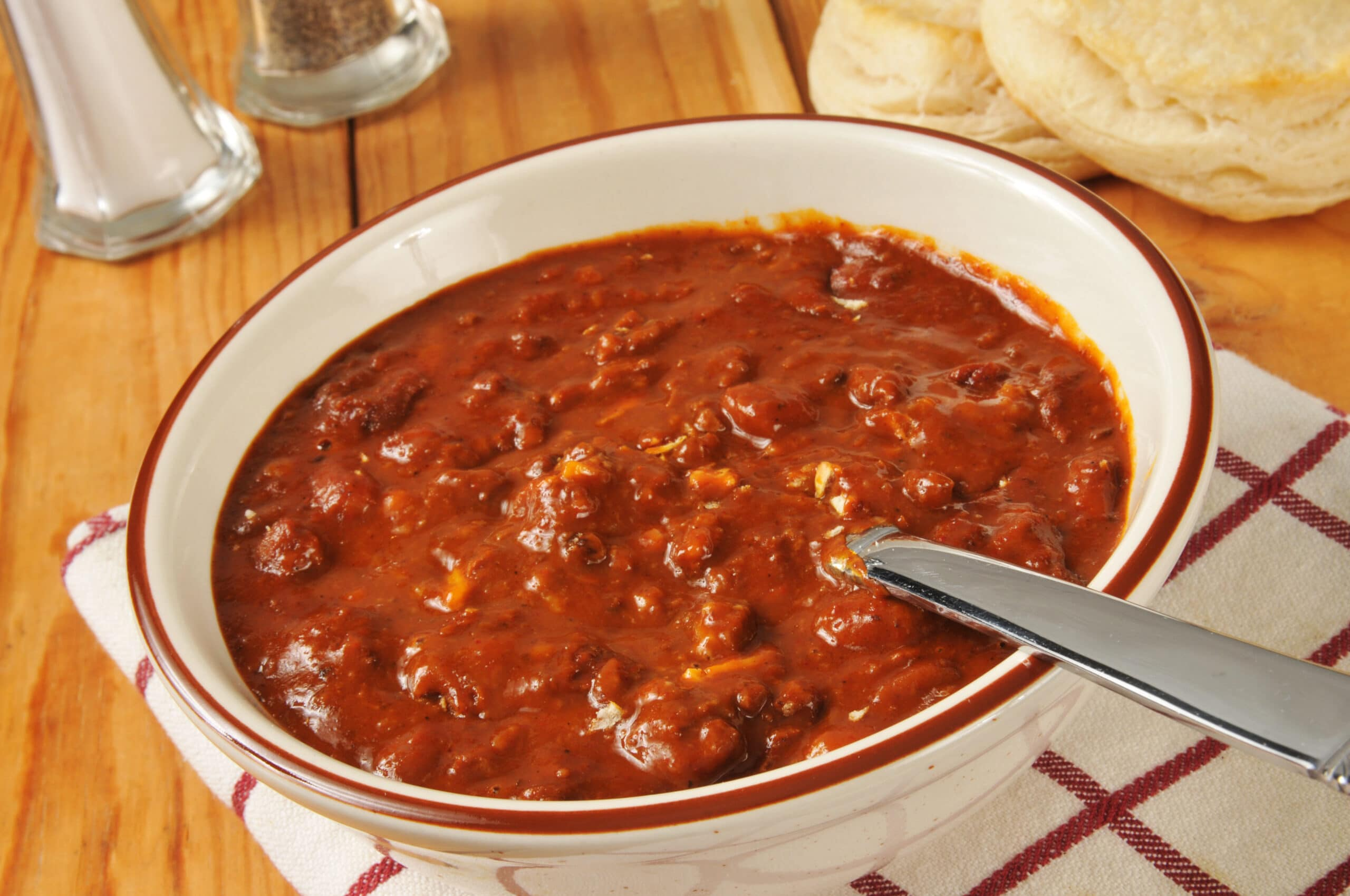 Vegetable and beef chili