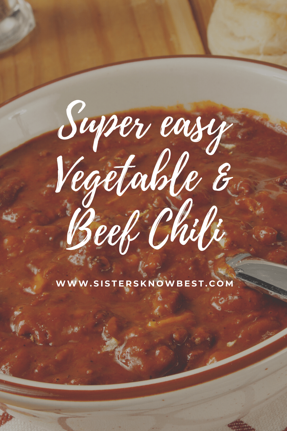 Vegetable and beef chili recipe