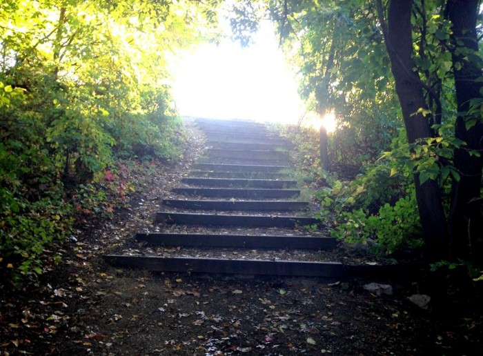 Heaven's stairs