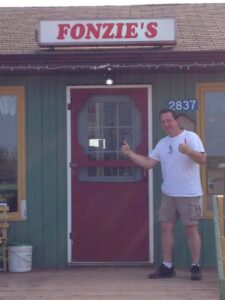 Fonzie's pizza in Tignish, Prince Edward Island