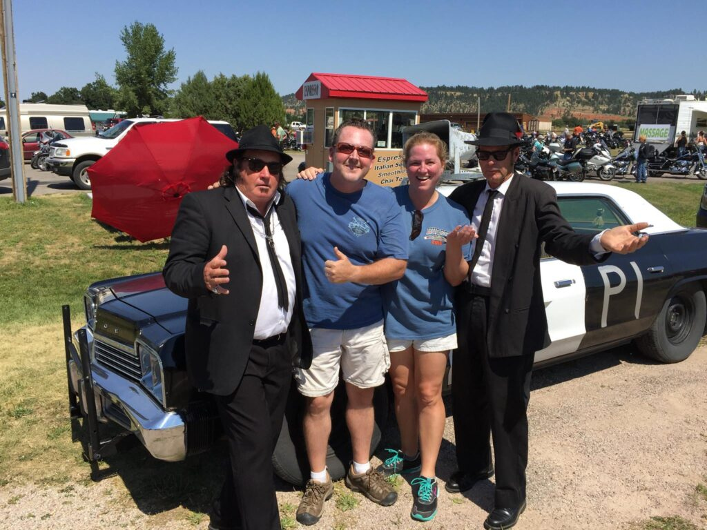 Blues Brothers at Devils Tower