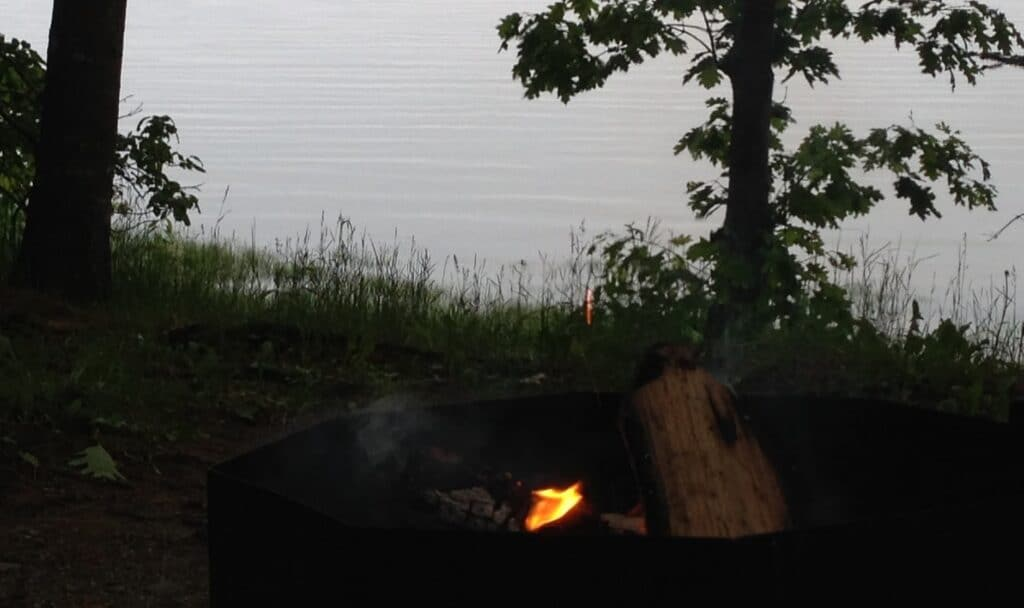 Recompence Campground Oceanfront Campsite